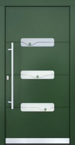 Hliníkové dveře Bernardette - varianta 2