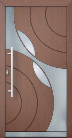 Hliníkové vchodové dveře Bianca