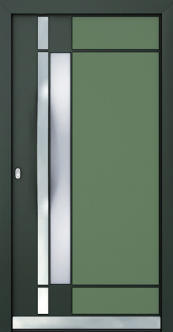 Hliníkové dveře Claire