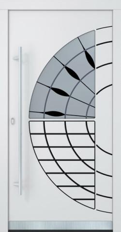 Hliníkové dveře Francine