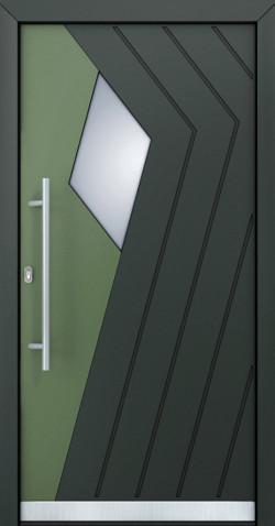 Hliníkové vchodové dveře Adelle