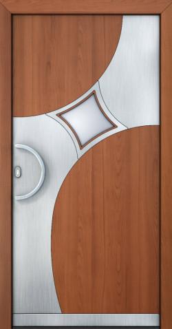 Hliníkové vchodové dveře Amber