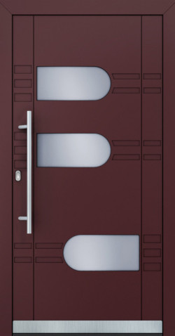 Hliníkové vchodové dveře Brittany
