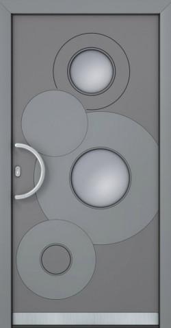 Hliníkové vchodové dveře Dione