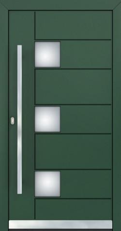 Hliníkové vchodové dveře Édith
