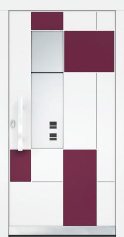 Hliníkové vchodové dveře Geraline