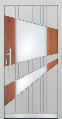 Hliníkové vchodové dveře Helena