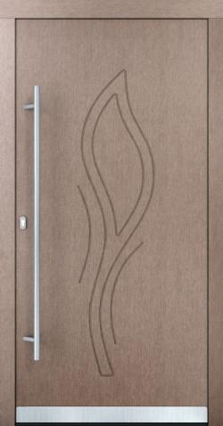 Hliníkové vchodové dveře Louise
