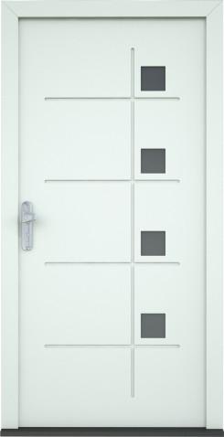 Plastové dveře Barbara