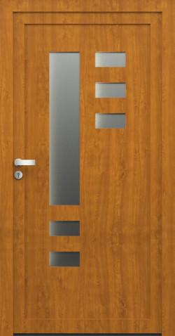 Plastové dveře Berta