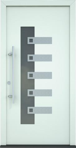 Plastové dveře Isabela - varianta 2