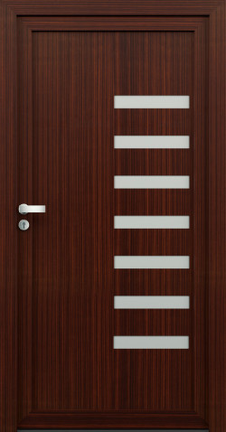 Plastové dveře Pavla