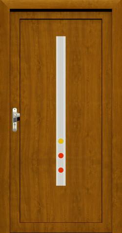 Plastové HPL dveře Diana