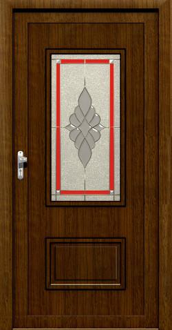 Plastové HPL dveře Kamila
