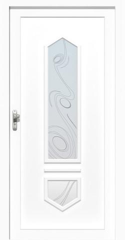 Plastové HPL dveře Monika