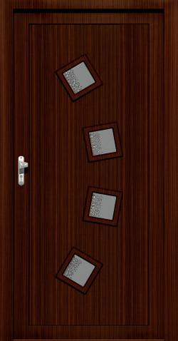 Plastové HPL dveře Nela