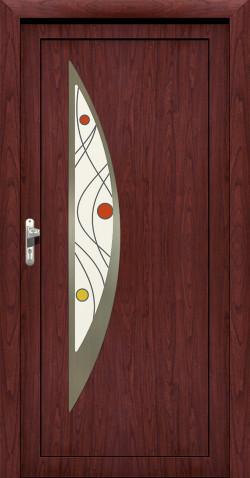 Plastové HPL dveře Regina