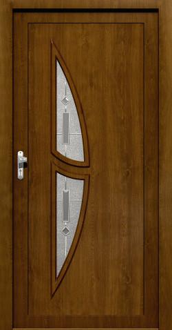 Plastové HPL dveře Romana