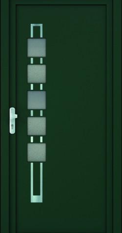 Plastové HPL dveře Tamara