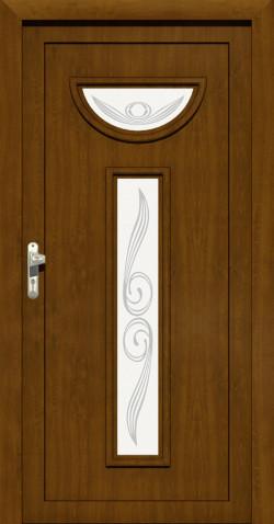 Plastové vchodové ABS dveře Agata