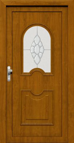 Plastové vchodové ABS dveře Alena