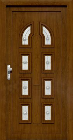 Plastové vchodové ABS dveře Eva