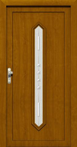 Plastové vchodové ABS dveře Linda