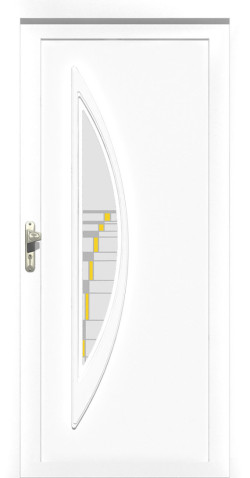 Plastové vchodové ABS dveře Olivie