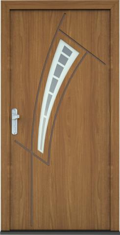 Plastové vchodové dveře Donatela