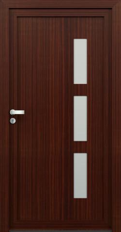 Plastové vchodové dveře Dora