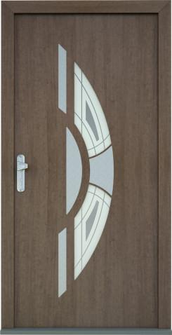 Plastové vchodové dveře Ester