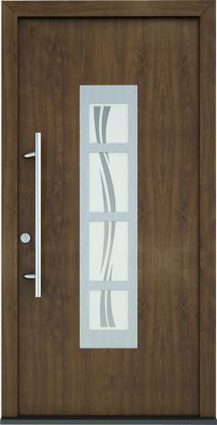 Plastové vchodové dveře Gita