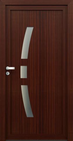 Plastové vchodové dveře Ilona