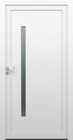 Plastové vchodové dveře Jitka