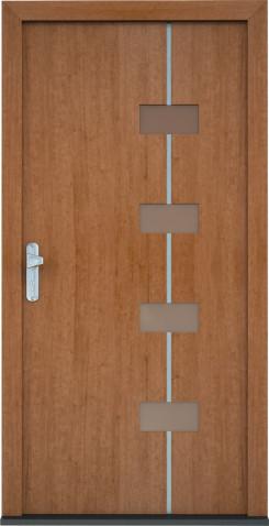 Plastové vchodové dveře Laura