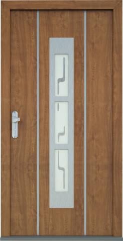Plastové vchodové dveře Marion