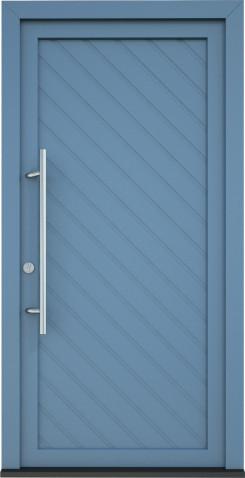 Plastové vchodové dveře Salma
