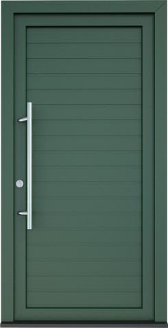 Plastové vchodové dveře Serena