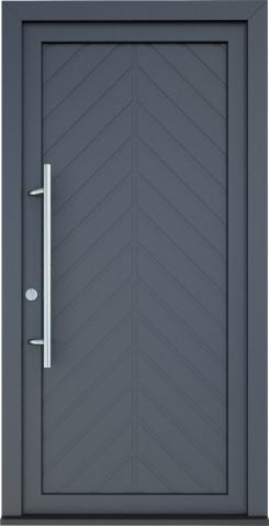 Plastové vchodové dveře Vanessa