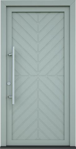 Plastové vchodové dveře Vesna