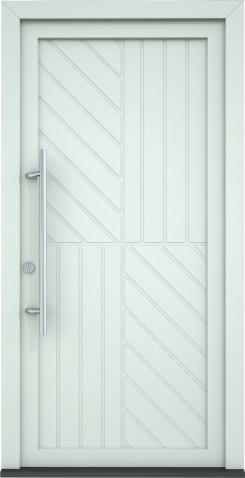 Plastové vchodové dveře Zaira