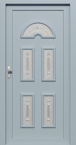Plastové vchodové HPL dveře Andrea