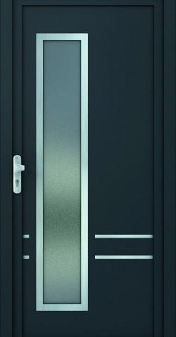 Plastové vchodové HPL dveře Dita