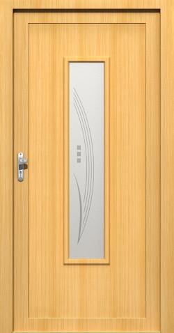 Plastové vchodové HPL dveře Nina