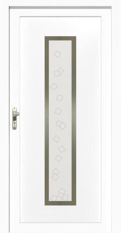 Plastové vchodové HPL dveře Patricie