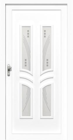 Plastové vchodové HPL dveře Viktorie