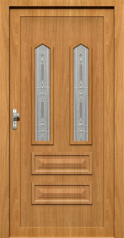 Plastové vchodové HPL dveře Vilma