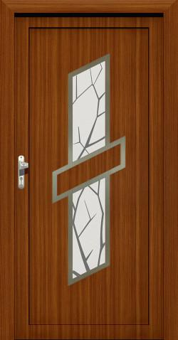 Plastové vchodové HPL dveře Zina